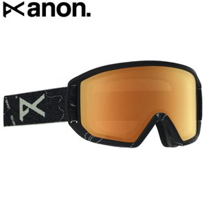 19-20 ANON RELAPSE GOGGLE ASIAN FIT TOPO BLACK SONAR NIGHT アノン スキー スノーボード ゴーグル 日本正規品|off-1