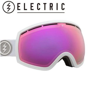 19-20 ELECTRIC EG2 MATTE WHITE BROSE  PINK CHROME  CONTRAST エレクトリック スキー スノーボード ゴーグル 日本正規品|off-1