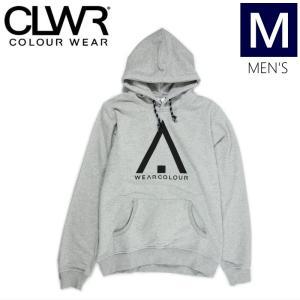 ★メンズ[Mサイズ]CLWR WEAR HOOD カラー:Grey MELANGE  カラーウェア スノーボード スキー タウンウエア プルオーバーフード型落ち 旧モデル|off-1