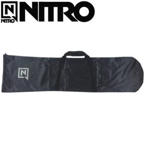☆[165cm]20 NITRO LIGHT SACK カラー:JET BLACK ナイトロ スノーボード ボードバッグ ボードケース 日本正規品|off-1