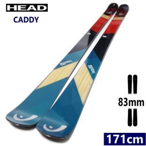 【ラス1】★[171cmセンター幅83mm]19 HEAD CADDY ヘッドのオールラウンドに使えるフリースタイルツインチップスキー 日本正規品【2018-2019】|off-1