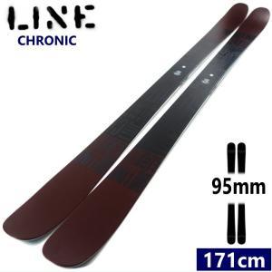 ☆[171cm/95mm幅]20 LINE CHRONIC 軽量 柔らかい板 ラインのツインチップスキー! フリースタイルモデル クロニック 板単体 日本正規品【2019-2020モデル】 off-1