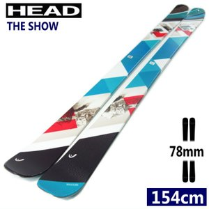☆[154cm78mm幅]20 HEAD THE SHOW フリースキー 板 ツインチップ コブ パ...