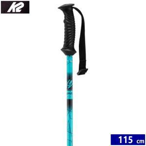 スキー ストック K2 K2 STYLE ALU カラー:BLUE 115cm ケーツー スタイルアルミニウム スキーポール|off-1