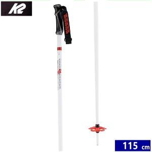 スキー ストック K2 FREERIDE 18 カラー:WHITE 115cm ケーツーフリーライド スキーポール|off-1