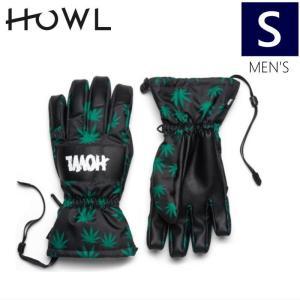 【ラス1】○メンズ[Sサイズ] HOWL TEAM GLOVE/GREEN ハウル チーム メンズグローブ スキースノーボード用の手袋♪ アシュベリーのライダーが立ち上げたブランド off-1