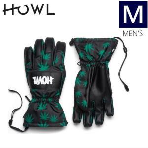 【ラス1】○メンズ[Mサイズ] HOWL TEAM GLOVE/GREEN ハウル チーム メンズグローブ スキースノーボード用の手袋♪ アシュベリーのライダーが立ち上げたブランド off-1