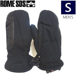 ●メンズ[Sサイズ] ROME DUKE MITTEN/BLACK 型落ち 旧モデル 手袋 グローブ ローム off-1