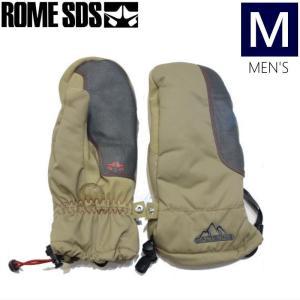 【ラス1】●メンズ[Mサイズ] ROME DUKE MITTEN/TAN 型落ち 旧モデル 手袋 グローブ ローム|off-1