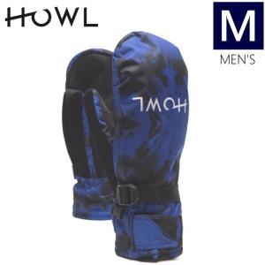 【ラス1】●メンズ[Mサイズ]17 HOWL FAIRBANKS MITTEN カラー:BLUEE ハウル フェアバンクス メンズミトングローブ スキースノーボードの手袋|off-1