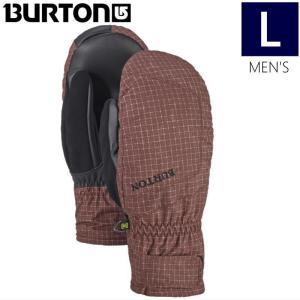 【ラス1】◎メンズ[Lサイズ]18 BURTON PROFILE UNDER MITT カラー:Chestnut Ripstop スキースノーボードミトングローブ スマートフォン操作保温性手袋|off-1