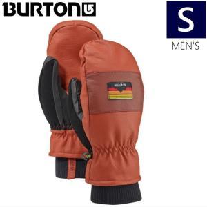 ●メンズ[Sサイズ]17 BURTON MB FREE RANGE MITTEN カラー:PICANTE スキー スノーボードミトン メンズ 手袋 バートン スマートフォン操作可能モデル|off-1