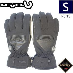 ◎メンズ[Sサイズ」18 LEVEL I-SUPER RADIATOR GORE-TEX GLOVE カラー:BLACK レベル スキースノーボードゴアテックスグローブ手袋 サーモシルバーライナー|off-1