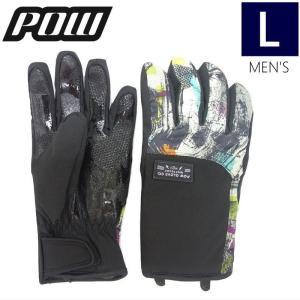 【ラス1】◎メンズ[Lサイズ]18 POW Zero Glove カラー:Color Collage スキー スノーボード グローブ パウ メンズ 手袋 日本正規品 off-1