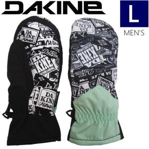 ★メンズ[Lサイズ]19 DAKINE TRACER MITTEN カラー:PAT ダカイン トレーサーミトングローブ スキー スノーボード用グローブ 男性用手袋|off-1