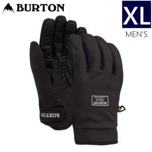 ☆メンズ[XLサイズ]20 BURTON SPECTRE GLOVE カラー:TRUE BLACK バートン グローブ スノーボード スキー 防寒 手袋 型落ち 19-20|off-1