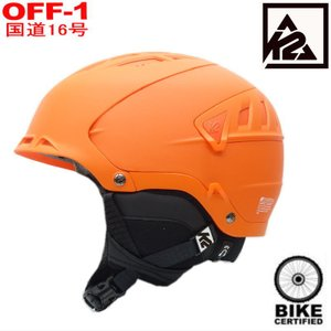 ◎メンズK2 DIVERSION カラー:ORANGE 男性用大人ケーツーヘルメットシンプル耐久性・快適性・高機能メットフィットシステム・ベンチレーション自転車にも!|off-1