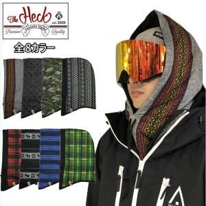 ■HECK NECKHOOD スキー スノーボード アクセサリー ヘック フードネック 防寒対策 日焼け対策 レイヤード 後付フード フードウォーマー ネックフード|off-1