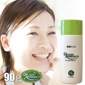 デンタアプローチ・ファミリーサイズ 90g denta approach/歯磨きジェル 歯磨き 歯磨き粉 主婦 情熱 アイディア 大阪歯科大|offer1999
