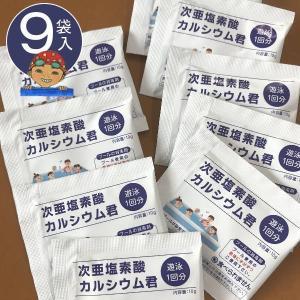 プール塩素消毒剤顆粒10g×9袋入り 家庭用プール・小規模プ...