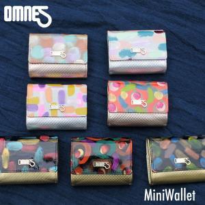OMNES JUMBLEシリーズ 鹿革とリアルフェザーのコンパクト ミニウォレット オムネス エナメルフィルム 財布 ミニマリスト 小型 薄型 ミニ財布|offer1999