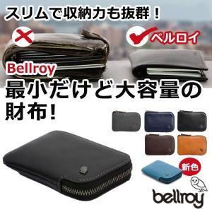 財布 Bellroy ベルロイ最小の財布最高級レザー Card Pocket ベルロイ カードポケッ...