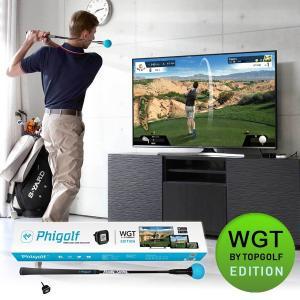 ゴルフシミュレーター ファイゴルフ PHIGOLF WGT Edition スイング練習器付き オンラインゴルフゲームWGTとのコラボ トーナメント スマホ テレビ iPhone