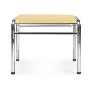 アイコ 応接テーブル コーナーテーブル 幅565×奥行き525MM カラー MPL メープル|offic-one