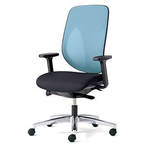 プラス   ジロフレックス オフィスチェア GIROFLEX353 353-8028RS ライトブルー|offic-one