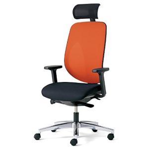 プラス   ジロフレックス オフィスチェア GIROFLEX353 353-9028RS オレンジ|offic-one