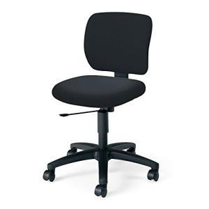 コクヨ   オフィスチェア イーザ CR-G182F6GEE6-W 背総張り デスクチェア 背座同色 ブラック|offic-one