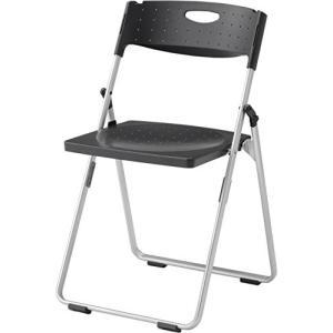 アイリスチトセ アイリスチトセ  折りたたみ椅子 スチールカルーナXCAL-XS01M ブラック|offic-one