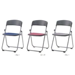 生興 折りたたみ椅子 オレフィンクロスシート張りタイプ  フラットチェアー SCF64-MY□|offic-one