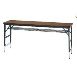 生興 上下可動式折りたたみテーブル W1800×D450×H700・800・900MM   KTC-1845T□|offic-one