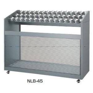 生興 45本用傘立て 鍵付きタイプ  W885×D450×H1015MM   NLB-45 offic-one