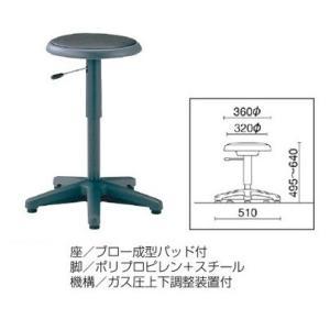 生興 作業用チェアー 丸イス   NO-41N offic-one