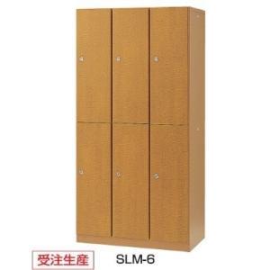 生興 6人用ロッカー 木金混合   W900×D515×H1800MM   SLM-6|offic-one