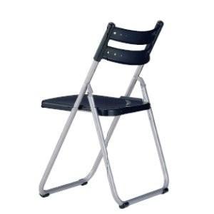 生興 折りたたみ椅子 座パッドなし  フラットチェアー SCF70-MS|offic-one
