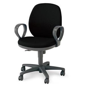 コクヨ   オフィスチェア メディックスチェア2 HCR-G611KD2NN ローバック サークル肘 ブラック|offic-one