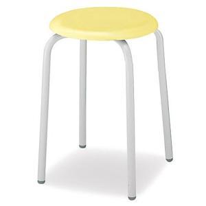 コクヨ   デスクチェア オフィスチェア スツール 丸椅子 SG-K35E146Y2N イエロー|offic-one