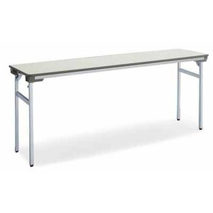 コクヨ   会議用テーブル KT-140シリーズ 脚折りたたみ式 会議用テーブル 棚なし 幅1800×奥行き600×高さ700MM カラー F1|offic-one