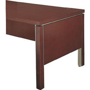 コクヨ   役員室用家具 マネージメントN100シリーズ サイドパネル スタンダードテーブル用  カラー W07 ローズブラウン|offic-one