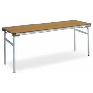 コクヨ   会議用テーブル KT-140シリーズ 脚折りたたみ式 会議用テーブル 棚付き 幅1800×奥行き450×高さ700MM カラー F1|offic-one