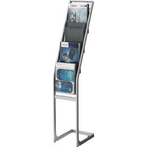 コクヨ   パンフレットスタンド A4サイズトレータイプ 片面 厚型1列4段|offic-one