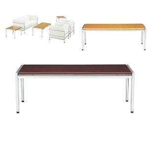 アイコ 応接テーブル センターテーブル 幅1265×奥行き600×高さ450MM 天板カラー マホガニー|offic-one