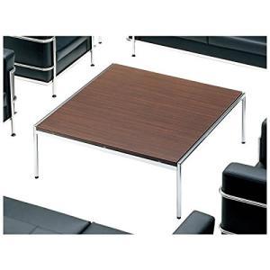 アイコ 応接テーブル センターテーブル 幅1265×奥行き1200×高さ450MM 天板カラー マホガニー|offic-one