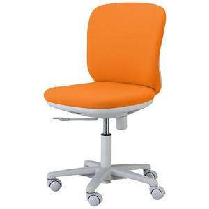くろがね   オフィスチェア SVチェア SV100F 肘なし 12色 オレンジ|offic-one
