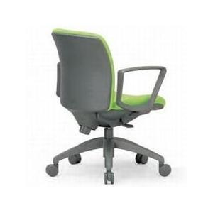 アイコ 事務椅子 ローバック肘付きタイプ サークル肘 OA チェア オフィス チェア OA-2115BJ 座W480 H800    FG3黄YE|offic-one