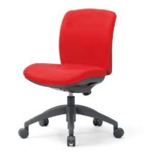 アイコ 事務椅子 全11色 ローバック肘なしタイプ OA チェアデスク チェア OA-2105 座W480 H800 FG3黒BK|offic-one