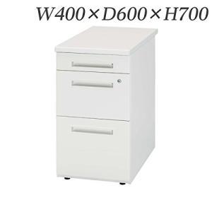 生興   デスク 50シリーズ Sタイプ 脇デスク W400×D600×H700 50SNL-046B ペールアルダー ホワイト|offic-one